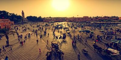 4 days 3 nights Marrakech Fes desert tour
